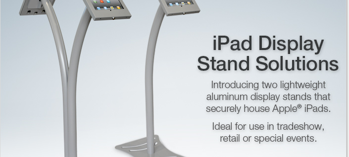 Stand View Exhibition Solutions : Ipad display stand solutions