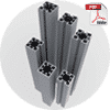 vs45 extrusion series multiple lengths