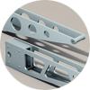 aluminum shelving brackets