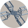 2 cord truss component