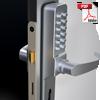combination door lock handle