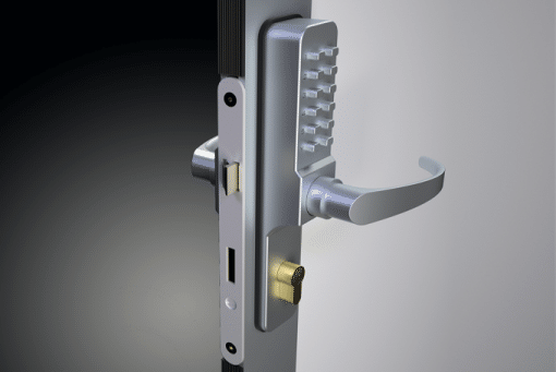 Custom Aluminum Door Frame with Combination Lock | Agam